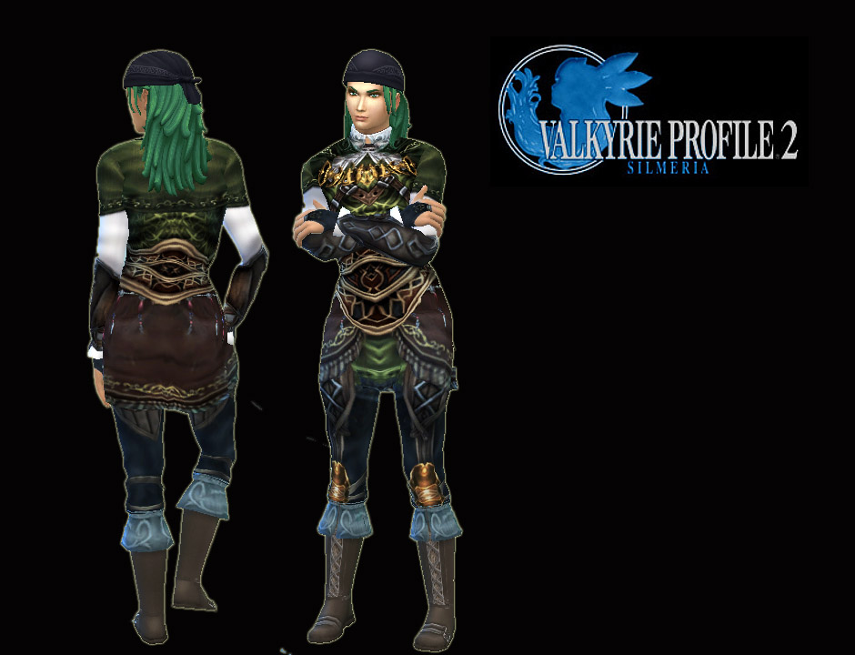 Valkyrie Profile Rufus Outfit and Boots by Kiara24