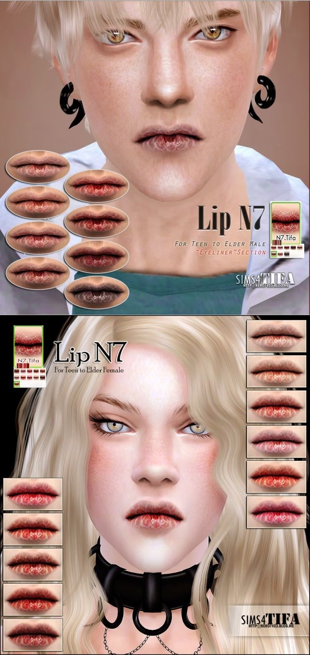 Lip N7 by Tifa