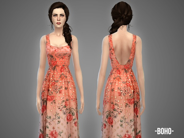 Boho - summer gown by -April-