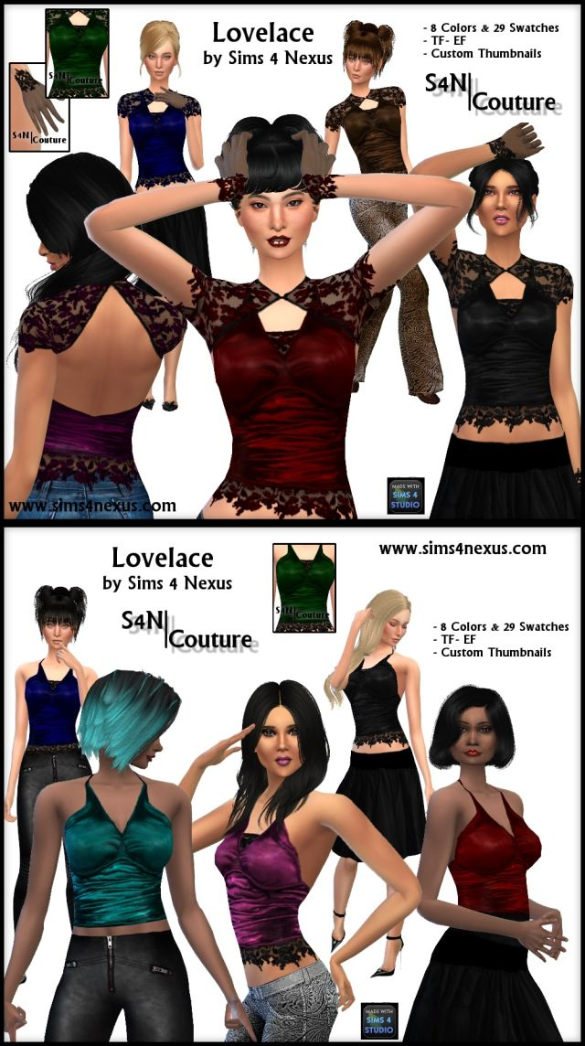 Lovelace Couture Set by Sim4Nexus