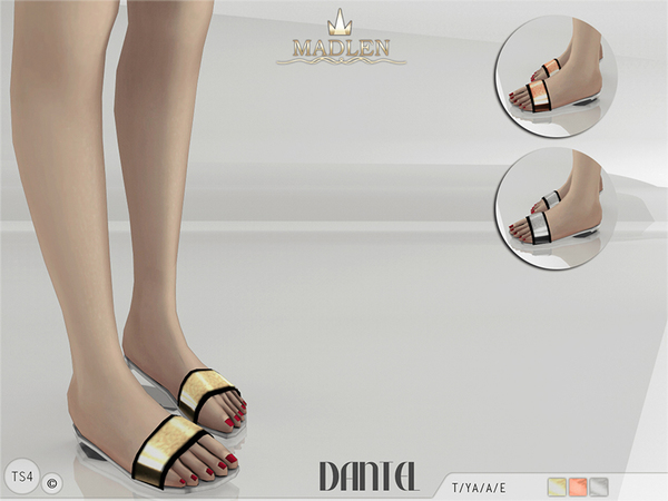 Madlen Dantel Slippers by MJ95