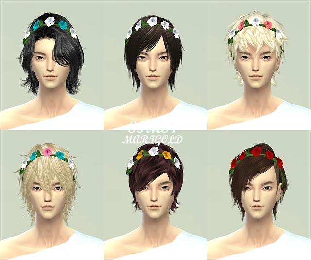 Male rose crown от Marigold