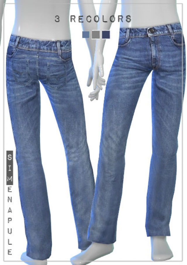 Male Jeans 04 by Ronja