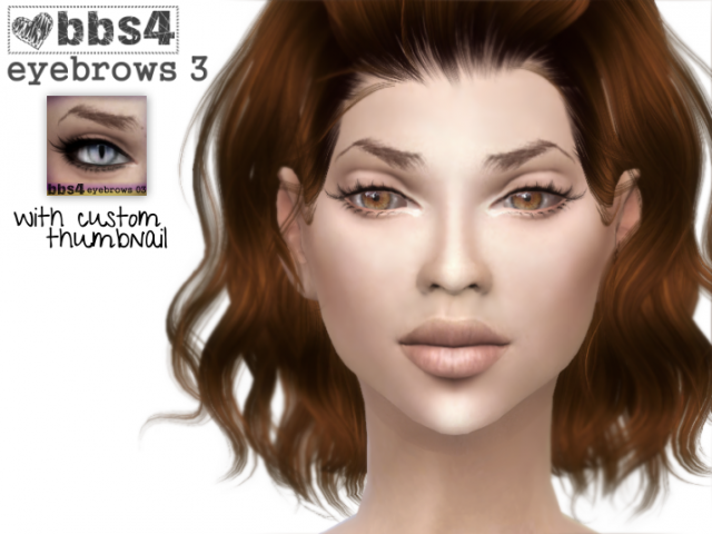 Eyebrows by bbs4