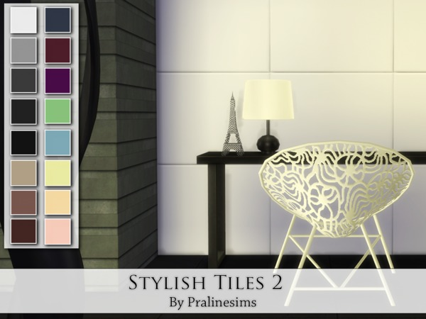 Stylish Tiles 2 by Pralinesims