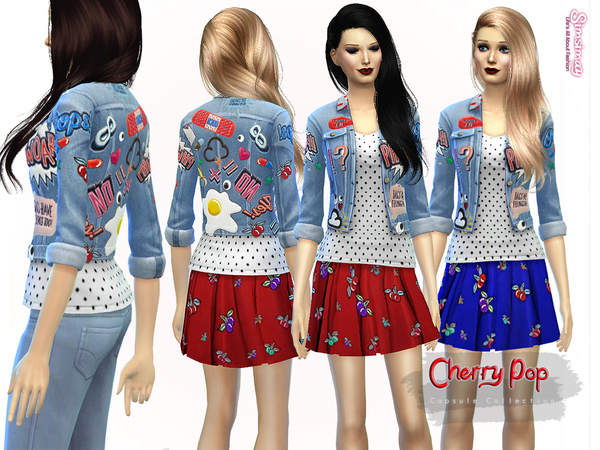 Cherry Pop Capsule Collection I by Simsimay