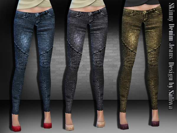 Skinny Denim Jeans by Saliwa