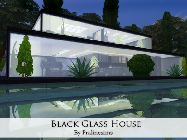 Black Glass House by Pralinesims