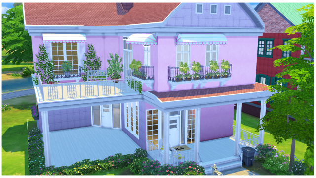 TS2 - Murano Rejal Balcony Conversion by Mysimlifefou