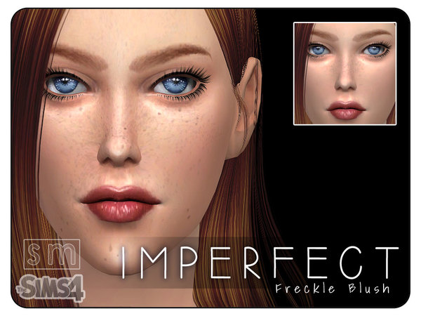 [ Imperfect ] - Freckle Blush Mask by Screaming Mustard