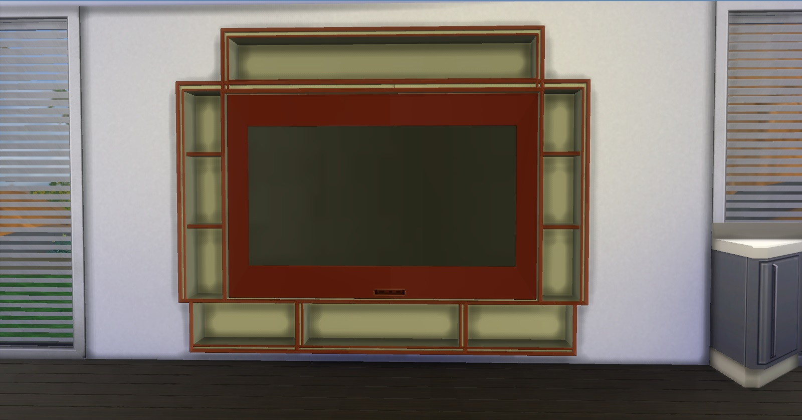 Simple Wall Tv by AdonisPluto