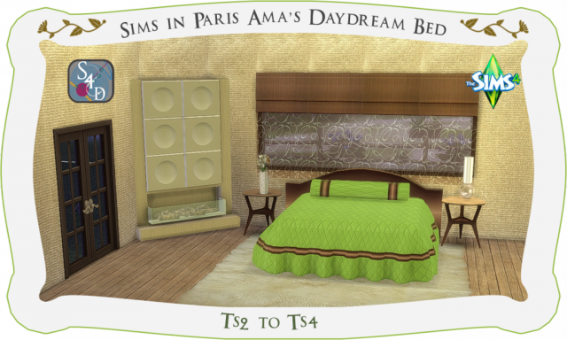 TS2 - SIP Ama's Daydream Bed Conversion by Daer0n
