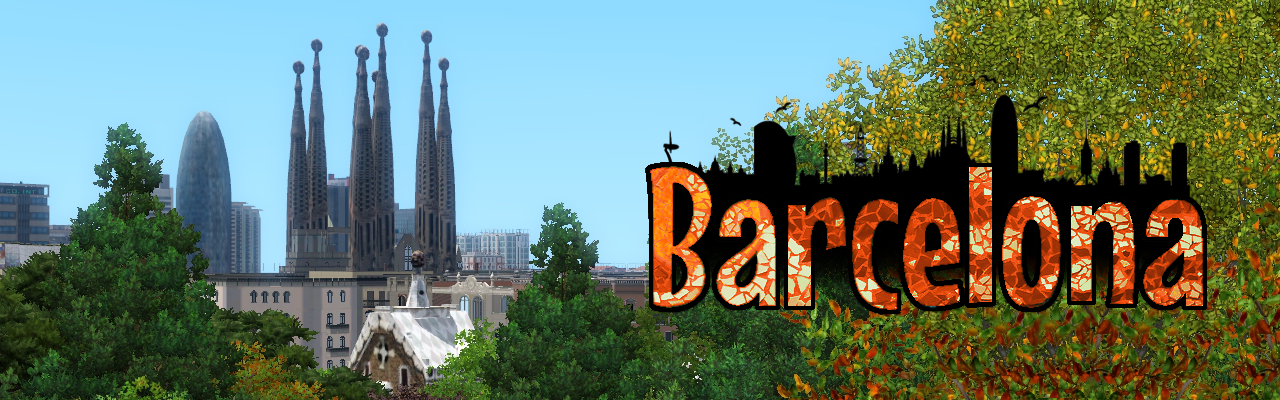 Barcelona Sims 3 world by Nilxis Designs