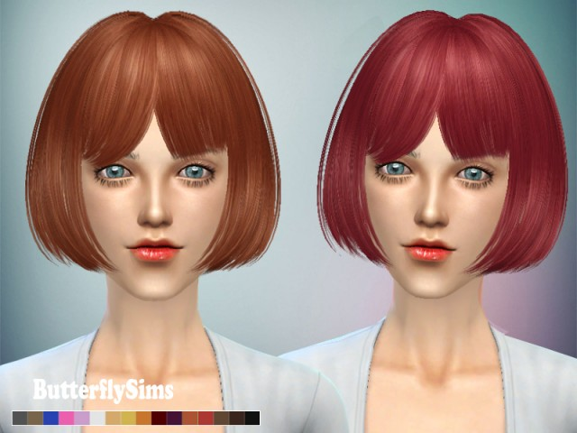 Butterflysims M109 Hair for Females