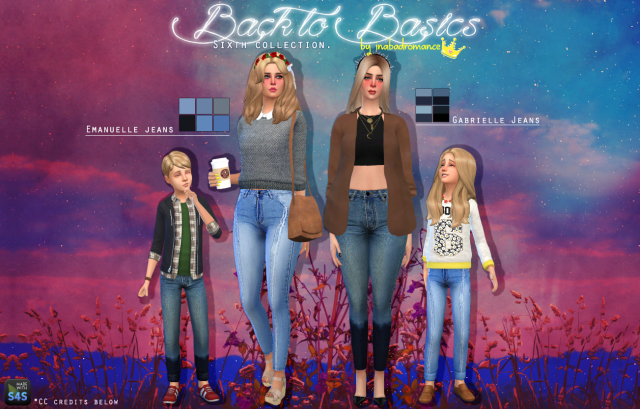 Back To Basics Denim Collection by Inabadromance