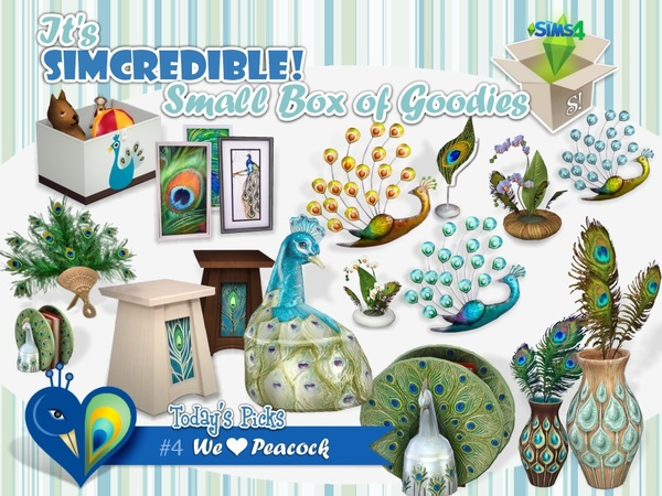 We love peacock box by SIMcredible