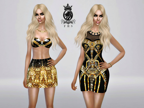 Golden Collection by FashionRoyaltySims