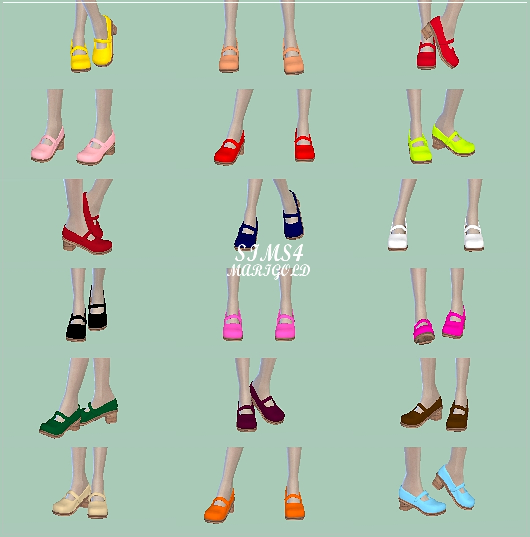 Mary jane shoes by Marigold