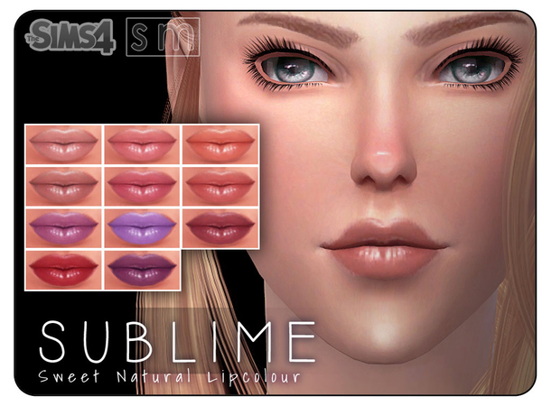 [ Sublime ] - Sweet Natural Lip Colour by Screaming Mustard