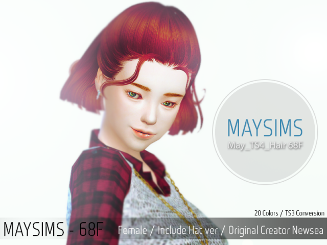 May_TS4_Hair68F by MaySims