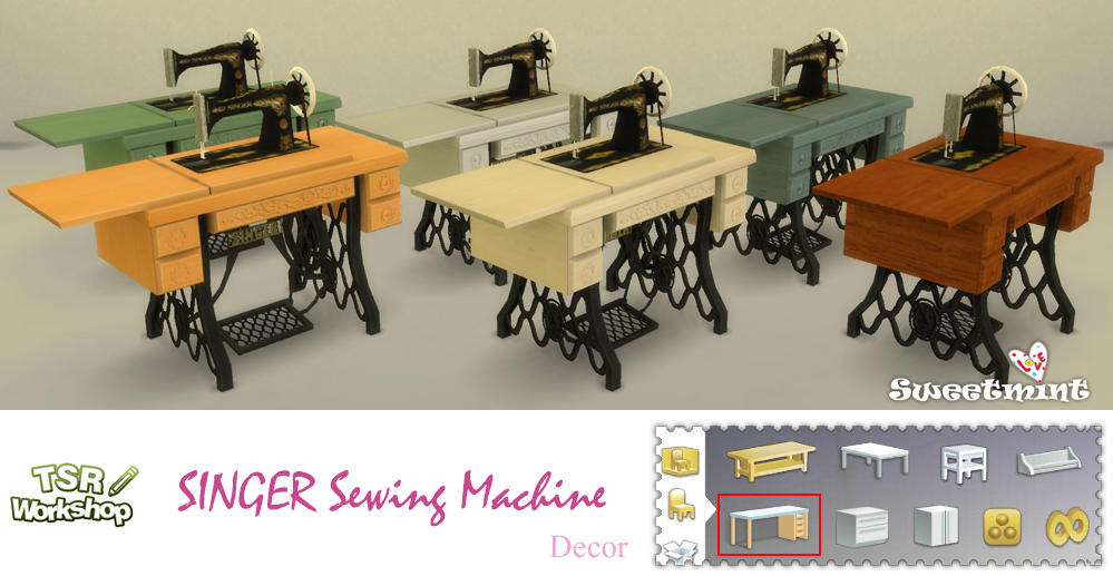 SINGER Sewing Machine by SweetMint