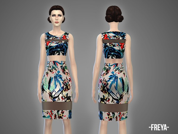 Freya - top & skirt outfit by -April-