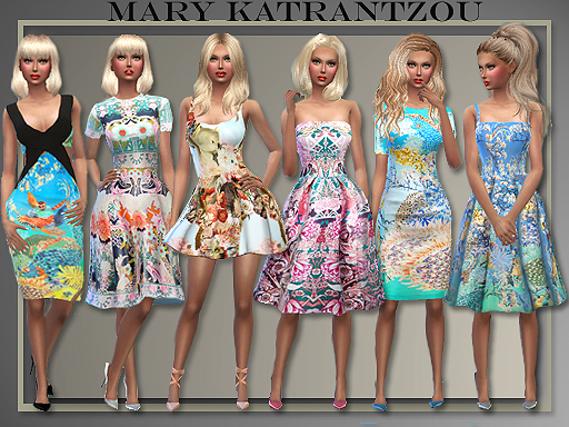 The Fabulous Prints Of M.K. 2015 7 dresses by Judie
