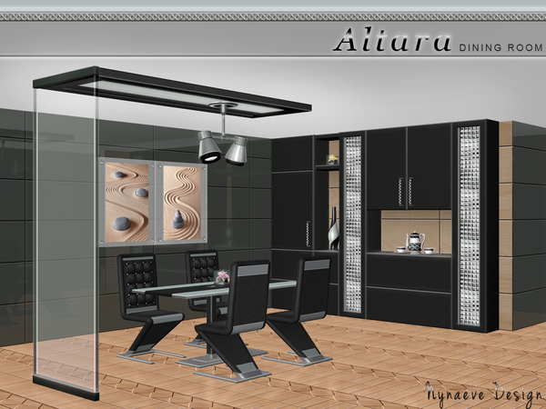 Altara Dining Room by NynaeveDesign