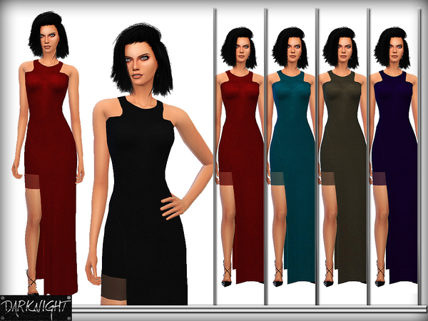 Stretch-Crepe Maxi Dress by DarkNighTt