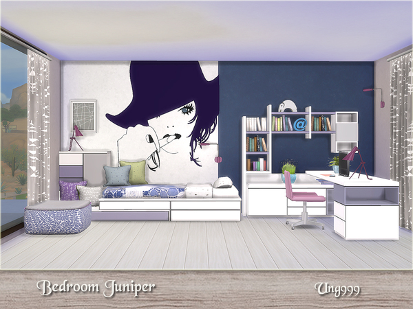 Bedroom Juniper by ung999