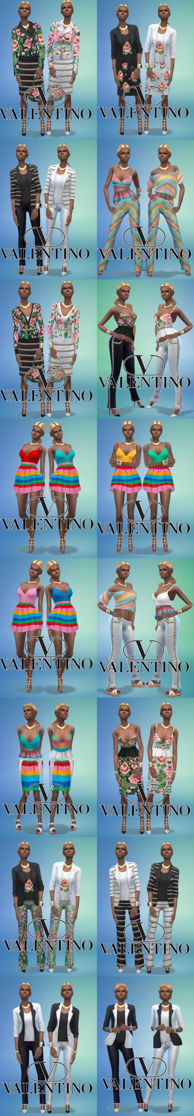Valentino SS/15 Collection by Jean