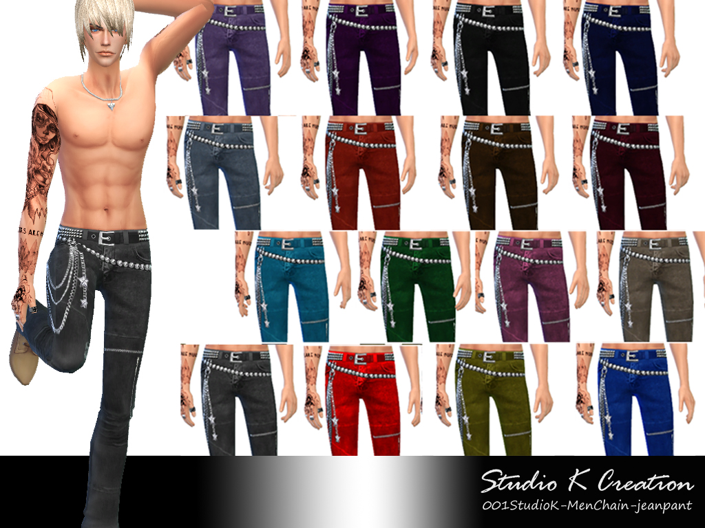 Top and Jeans for Males by Karzalee