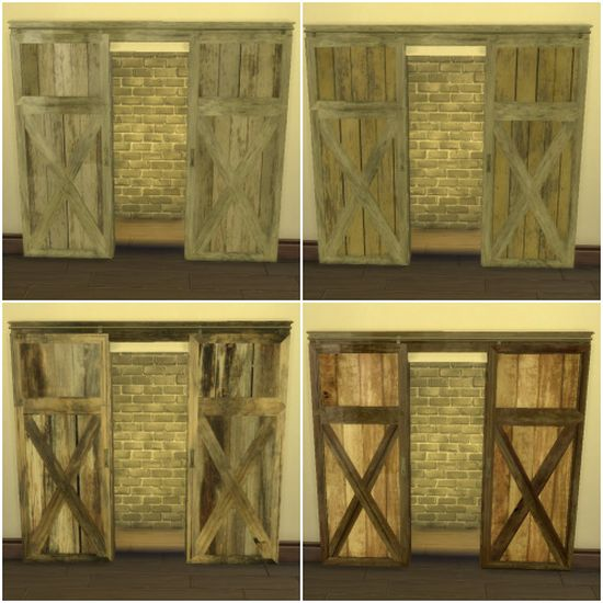 TS2 Barn Door Conversion by LindseyxSims