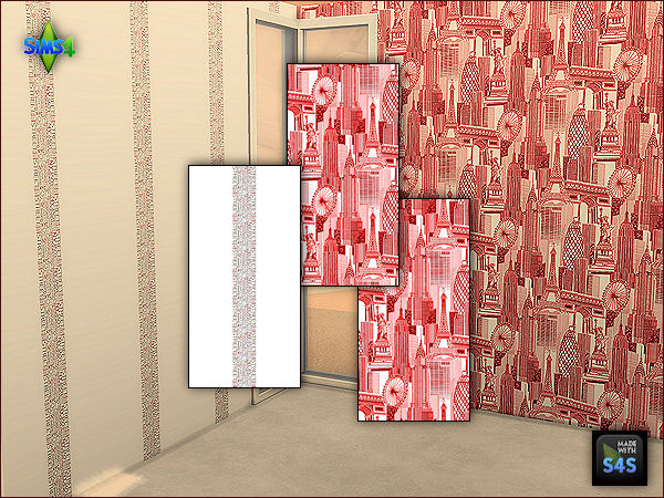 4 wall sets for teen rooms by Arte Della Vita