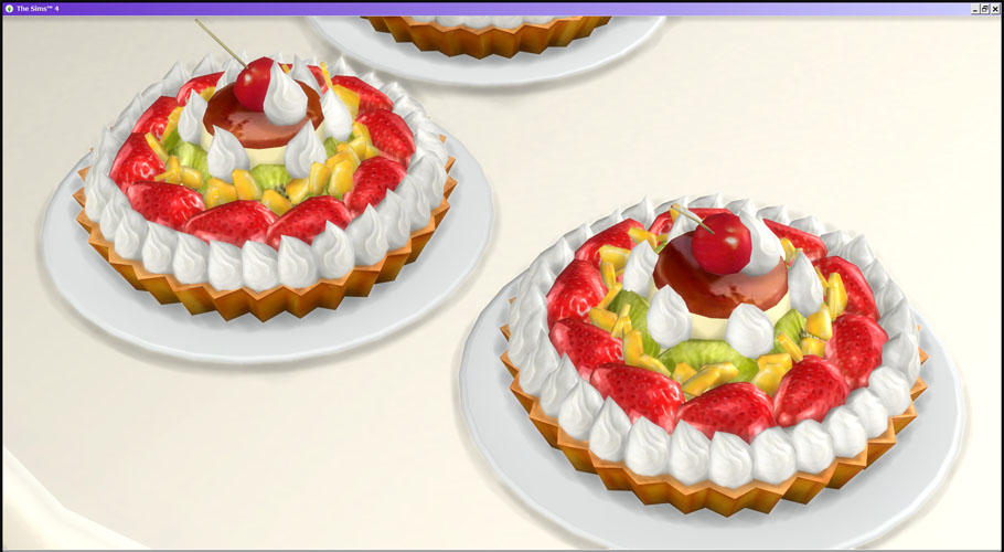 Fruit Tart by lolinekosims4