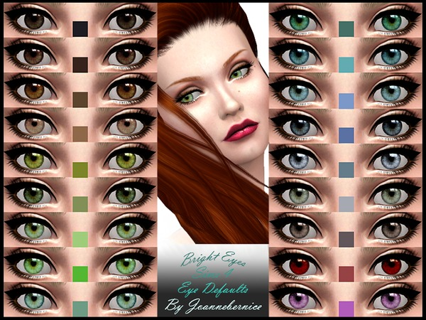 Bright Eyes - REPLACEMENT DEFAULTS by joannebernice