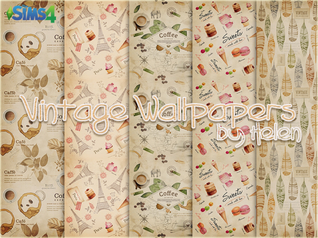 Vintage Wallpapers by Helen