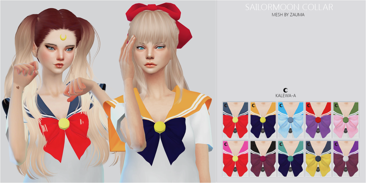Sailor Moon Collar by kalewa-a