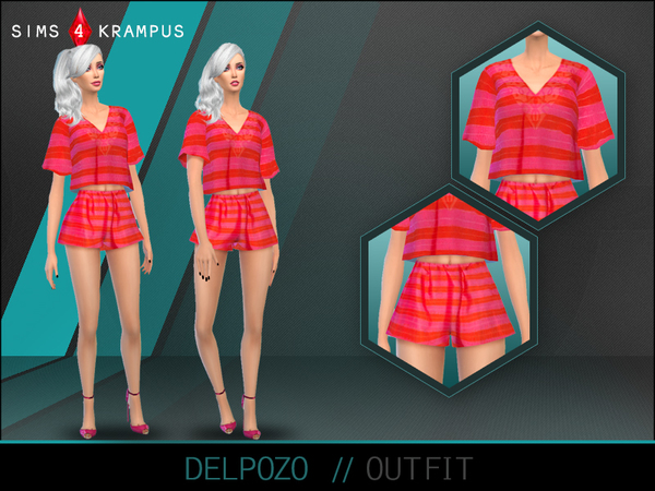 Delpozo Outfit by SIms4Krampus