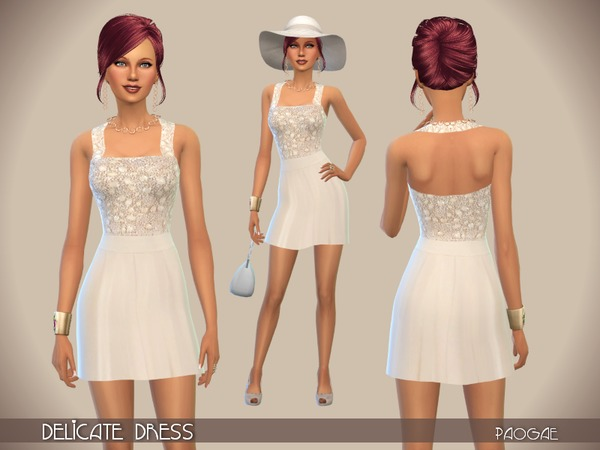 Delicate Dress by Paogae
