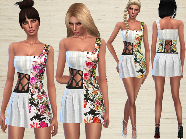 Floral Dress by Puresim