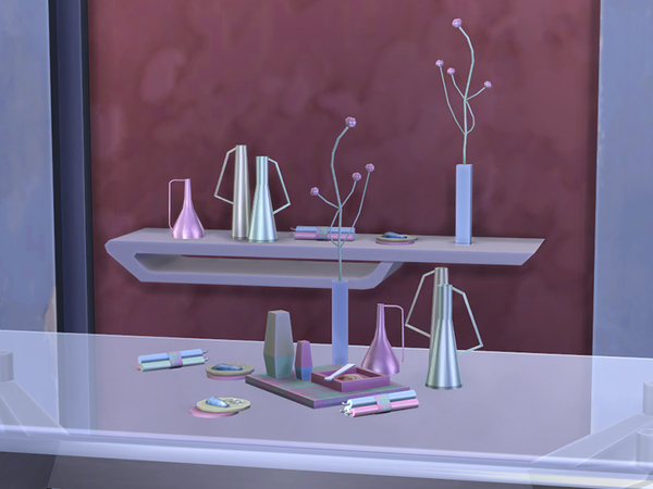 Contemporary Breakfast Set by soloriya