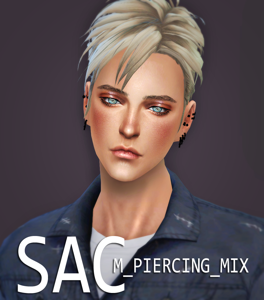 Earrings for Males by SSAC