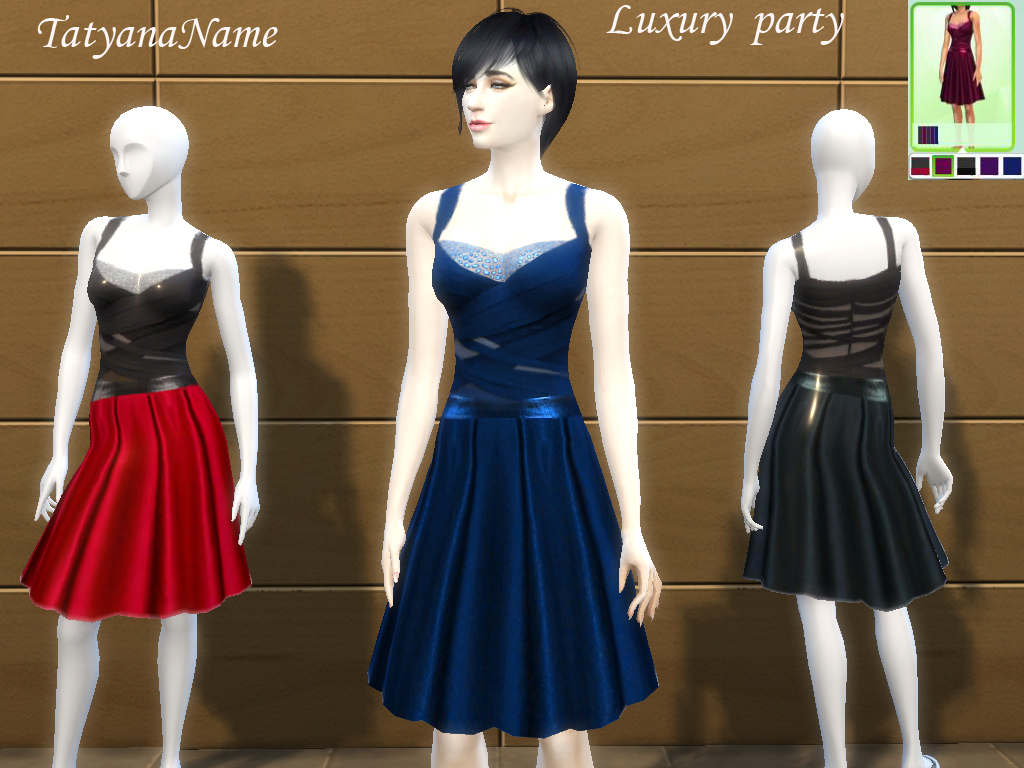 Luxury Party Dress by TatyanaName