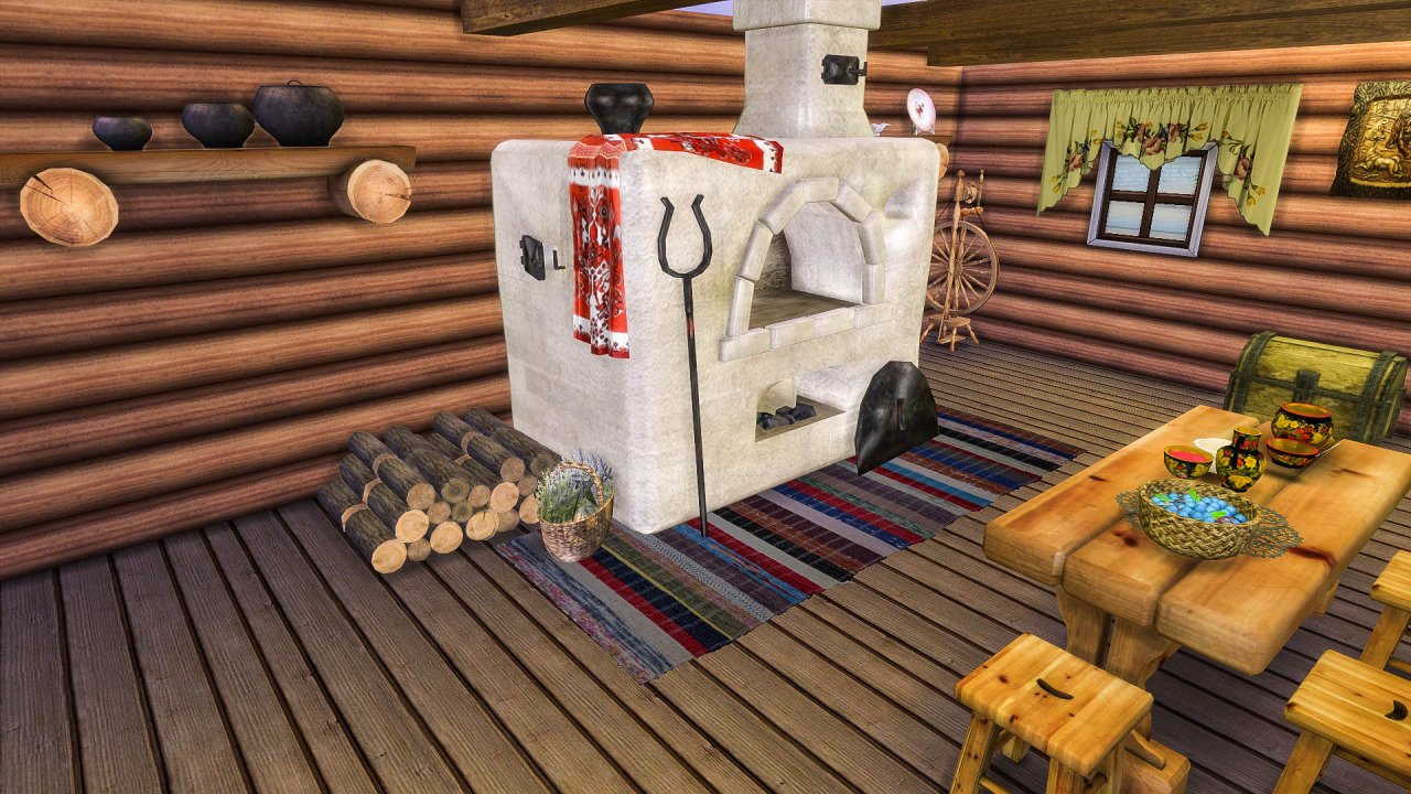 TS2 - Jeka Russian Oven Conversion by LadyBereniche
