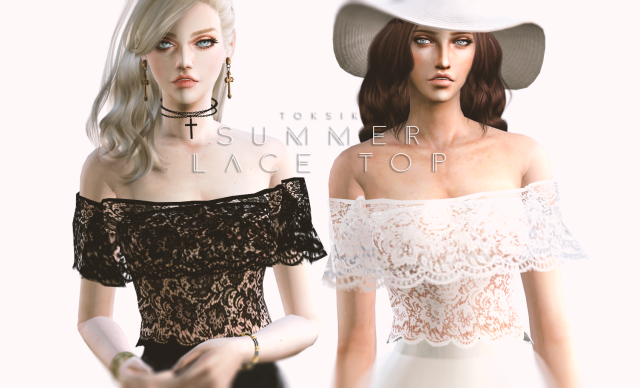 Summer Lace Top by Toksik