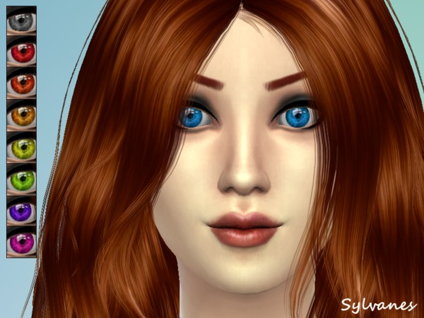 Ayana eyes_T.D. by Sylvanes
