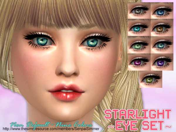 Starlight Eye Set by SenpaiSimmer