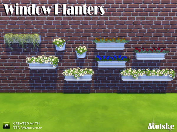Window Planters by mutske