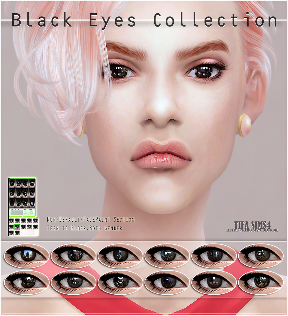 Black Eyes Collection by Tifa